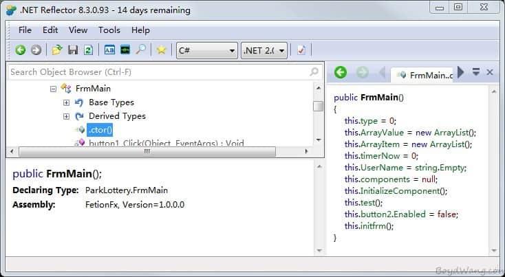 无源码情况下修改.net应用程序