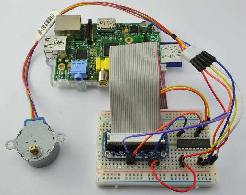 Adafruit的树莓派教程第十课:步进电机