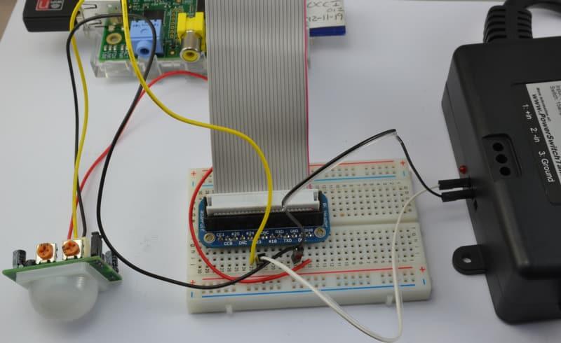 Adafruit的树莓派教程第十三课:电力控制